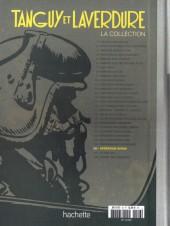 Verso de Tanguy et Laverdure - La Collection (Hachette) -27- Le vol 501