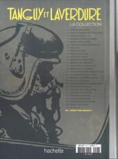 Verso de Tanguy et Laverdure - La Collection (Hachette) -28- Taïaut sur bandits !