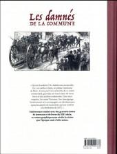 Verso de Les damnés de la Commune -1- À la Recherche de Lavalette