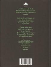 Verso de Les pierres sacrées d'EllijahrhemKathum -1- L'éveil