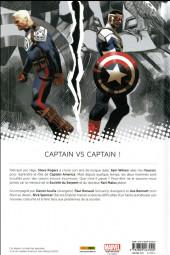 Verso de Captain America : Sam Wilson -1- Pas mon Captain America