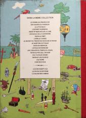 Verso de Tintin - Pastiches, parodies & pirates - Objectif Marche sur la lune