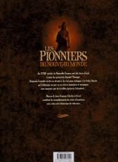Verso de Les pionniers du Nouveau Monde -INT5-  L'intégrale - Tomes 17 à 20