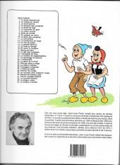 Verso de Sylvain et Sylvette -3b1992- Le lance-pierres
