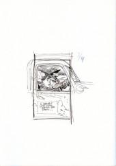 Verso de (AUT) Bodart - Sketchbook - Various sketches et tributes