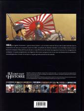 Verso de Ils ont fait l'Histoire -24- L'empereur Meiji
