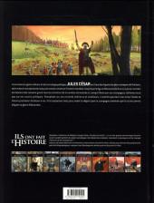 Verso de Ils ont fait l'Histoire -23- César