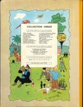 Verso de Tintin (Historique) -19B31- Coke en stock