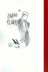 Verso de Adam Clarks - Tome HS