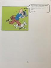 Verso de Tintin - Pastiches, parodies & pirates - Tintin dans Loft Story