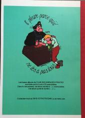 Verso de Tintin - Pastiches, parodies & pirates - Tintin au Chili