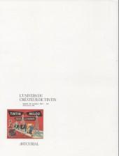 Verso de (Catalogues) Ventes aux enchères - Artcurial - Artcurial - L'univers du créateur de Tintin - samedi 18 novembre 2017