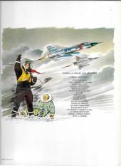 Verso de Tanguy et Laverdure -2d1980- Pour l'honneur des Cocardes