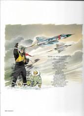 Verso de Tanguy et Laverdure -16a80- La terreur vient du ciel