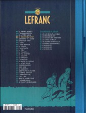 Verso de Lefranc - La Collection (Hachette) -4Test- Le Repaire du loup