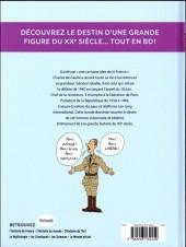 Verso de L'histoire de France en BD (Joly/Heitz) -11- De Gaulle et le XXe siècle