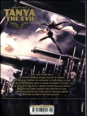Verso de Tanya The Evil -1- Tome 1