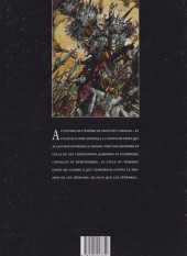 Verso de Chroniques de la Lune Noire -1b97- Le signe des Ténèbres