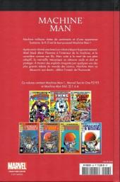 Verso de Marvel Comics : Le meilleur des Super-Héros - La collection (Hachette) -48- Machine man