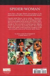 Verso de Marvel Comics : Le meilleur des Super-Héros - La collection (Hachette) -49- Spider-woman