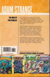 Verso de Showcase presents: Adam Strange (2007) -INT01- Volume 1