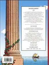 Verso de Alix (Les Voyages d') -39- Les gladiateurs
