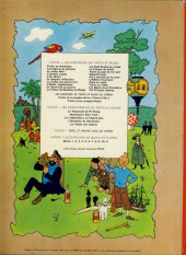 Verso de Tintin (Historique) -9B38bis- Le crabe aux pinces d'or