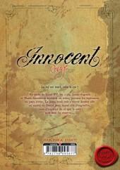 Verso de Innocent Rouge -3- La femme de sang royal