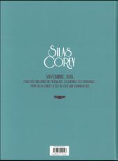 Verso de Silas Corey -INT2- Intégrale Tome 2 - Cycle 2