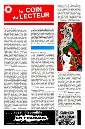 Verso de Fantastic Four (Éditions Héritage) -3- La marque du... fou furieux !