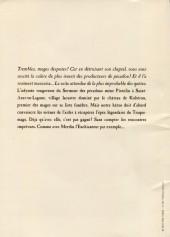 Verso de Traquemage -2HC- Le Chant vaseux de la Sirène