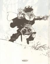 Verso de Le maître d'armes - Tome TL