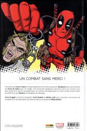 Verso de All-New Deadpool (Marvel Now!) -2- Deadpool contre Dents de Sabre