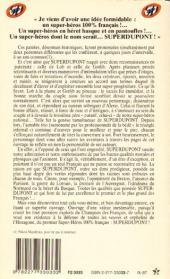 Verso de SuperDupont -1Poc- Superdupont