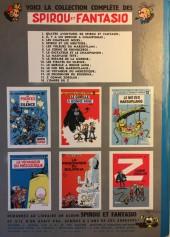 Verso de Spirou et Fantasio -1b1962- 4 aventures de Spirou et Fantasio
