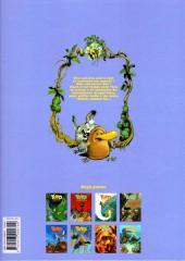 Verso de Toto l'ornithorynque -8- Toto l'ornithorynque et le dragon bleu