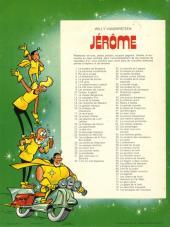 Verso de Jérôme -76- Les escargots de Fukuzawa