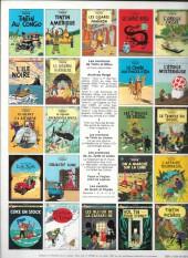 Verso de Tintin (Historique) -3C4bis- Tintin en Amérique