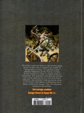 Verso de Savage Sword of Conan (The) (puis The Legend of Conan) - La Collection (Hachette) -4- Le conquérant