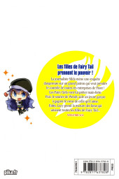 Verso de Fairy Tail - Fairy Girls -4- Volume 4