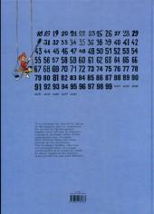 Verso de (AUT) Franquin -28a- Toutes les couvertures des recueils du journal de SPIROU par Franquin
