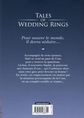 Verso de Tales of Wedding Rings -4- Tome 4