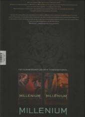 Verso de Millénium -INT2- La fille qui rêvait d'un bidon d'essence et d'une allumette