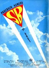 Verso de Super Boy (2e série) -119- Station rapace ne répond plus !