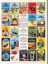 Verso de Tintin (Historique) -5C3bis- Le lotus bleu