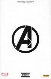 Verso de Avengers Universe (2e série - 2017) -1TL- Baptême du feu