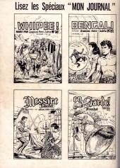 Verso de Pirates (Mon Journal) -12- Eric Tête Folle : Pour délivrer le Marquis