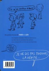 Verso de Les petits tracas de Théo & Léa -8- je ne dis pas toujours la vérité