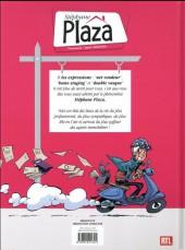 Verso de Stéphane Plaza - Profession : agent immobilier -1- Suivez-moi, c'est par là !