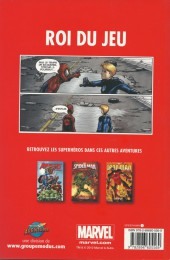 Verso de Spider-Man - Les aventures (Presses Aventure) -1- Roi du jeu